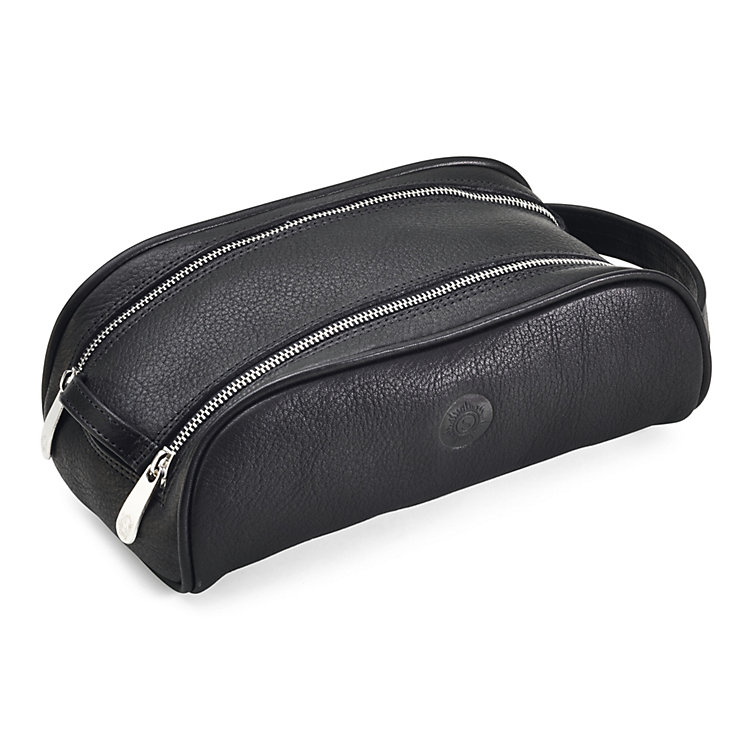 Small Sonnenleder toilet bag, Black