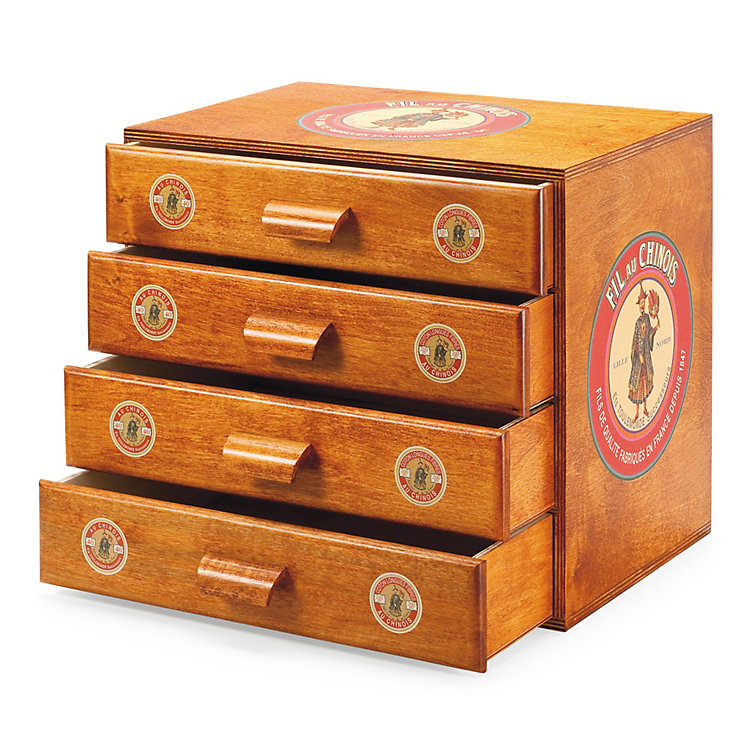 Small Wood Chest of Drawers