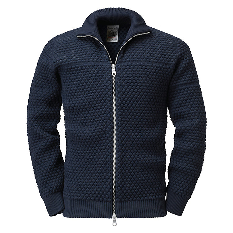S.N.S Herning Herren-Strickjacke, Navy
