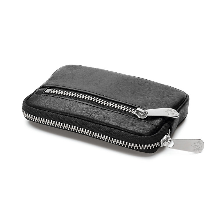Sonnenleder Key Purse, Black