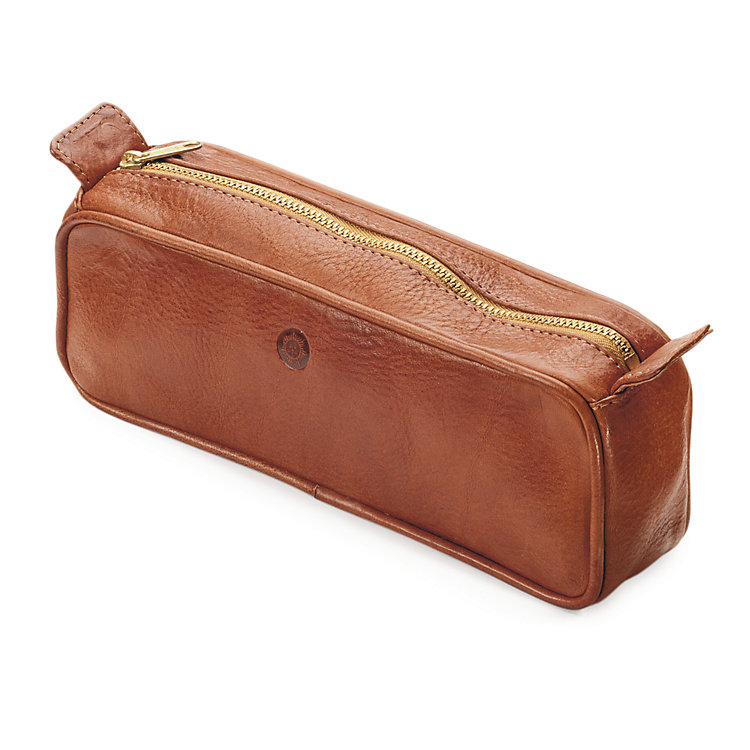 Sonnenleder Toilet Bag, Natural