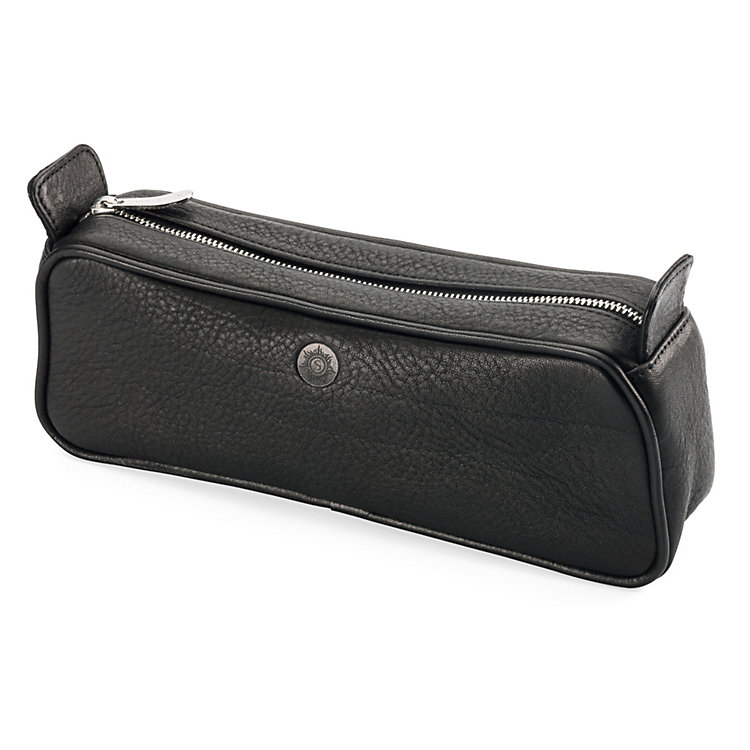 Sonnenleder Toilet Bag, Black