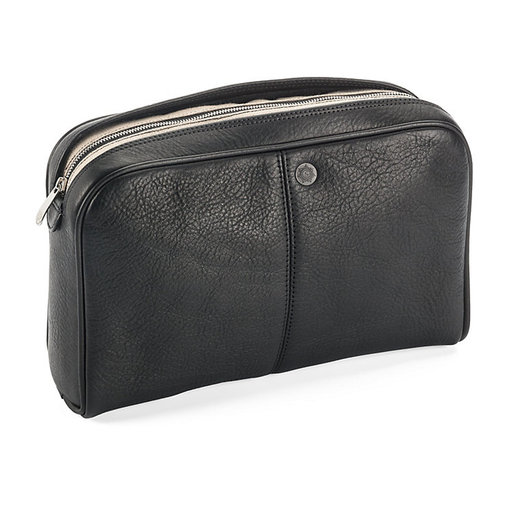 Sonnenleder Toiletries Bag Black