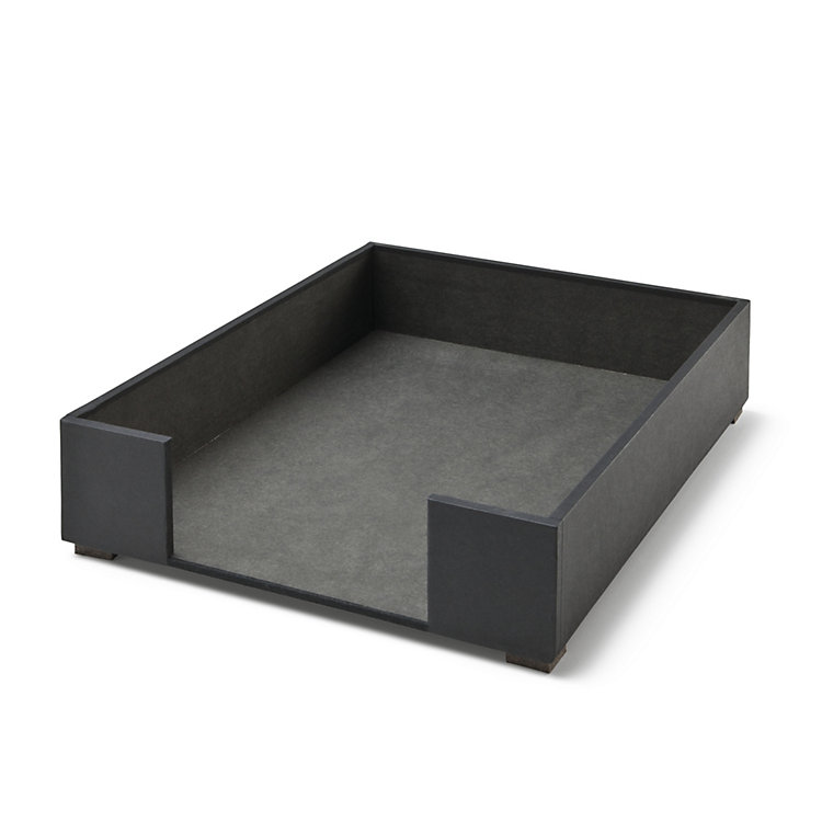 Stackable A4 Filing Tray Black