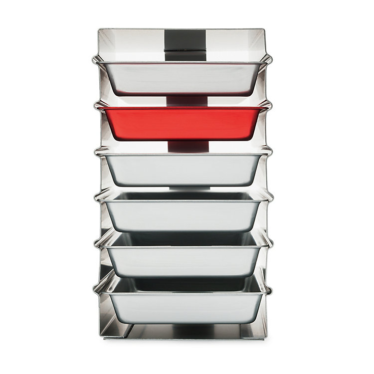 Stacked Trays Alumoule Small