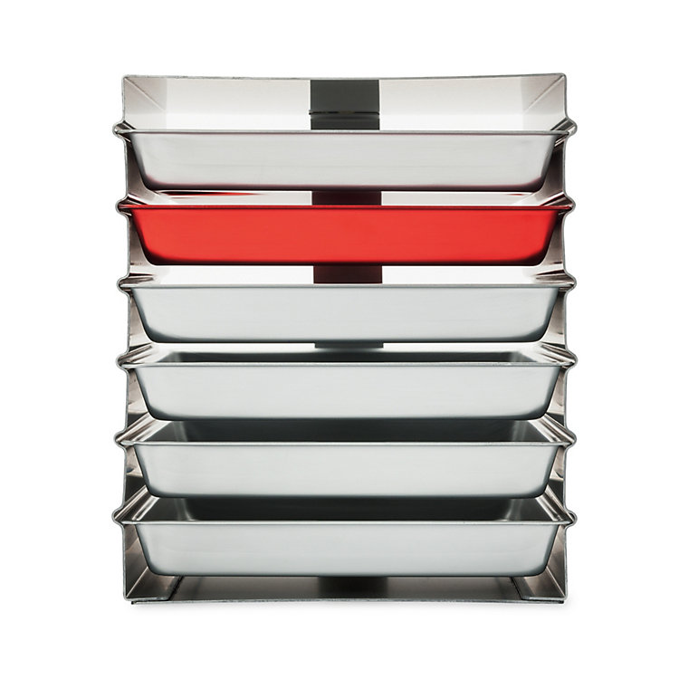 Stacked Trays Alumoule