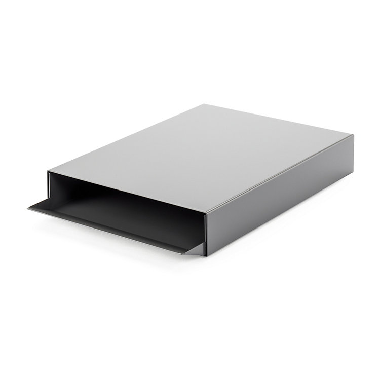 Stacking Tray STAPLER Dust Grey RAL 7037