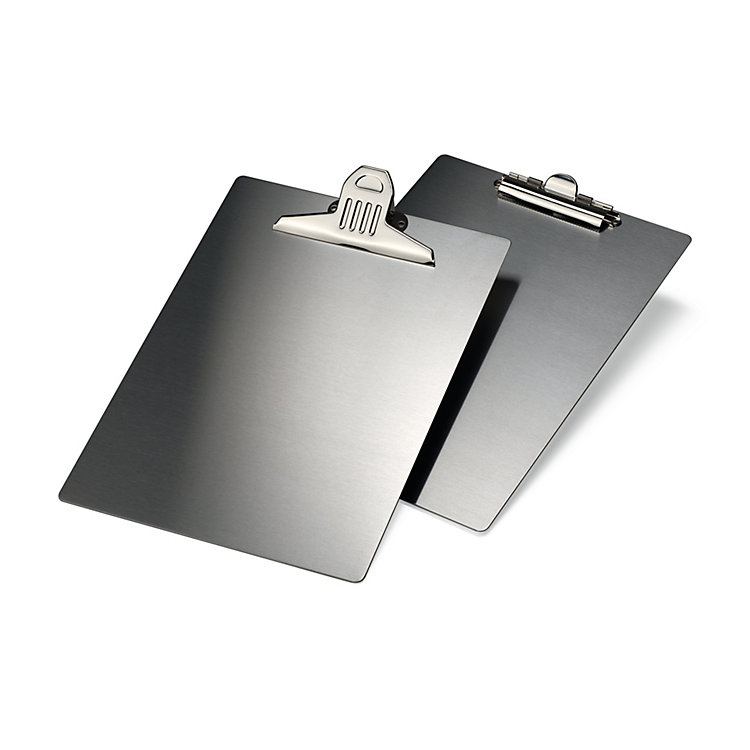 Stainless Steel A4 Clipboard Small