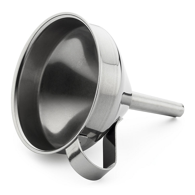 Stainless Steel Funnel Small