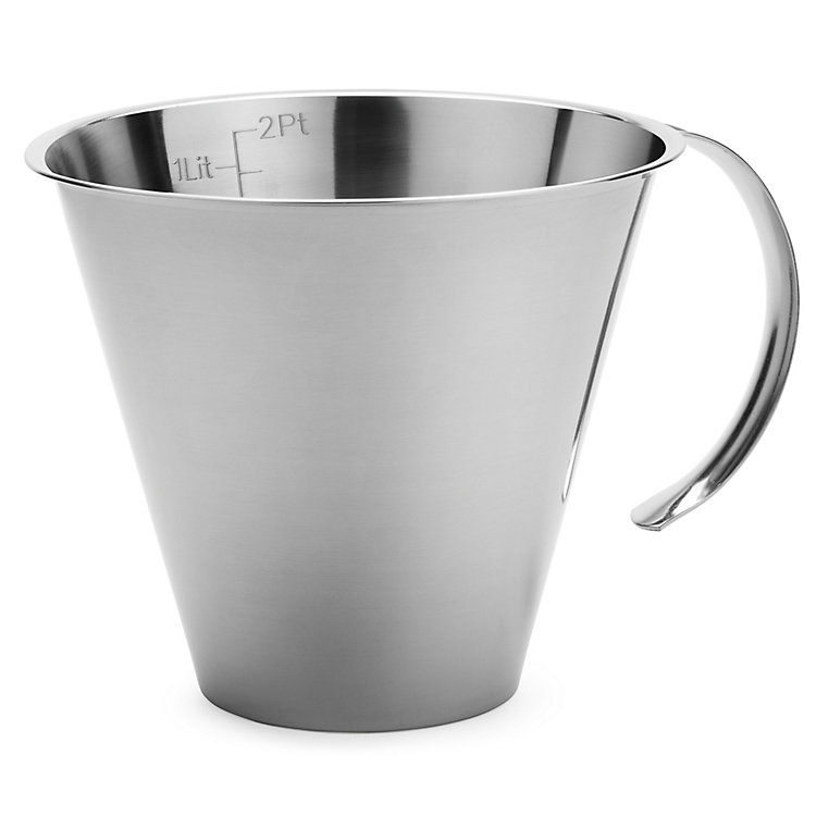 Stainless Steel Measuring Jug