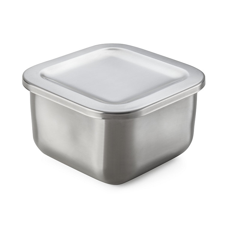 Stainless Steel Storage Tin 1/6 size