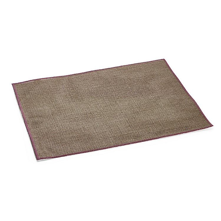 Starched Linen Placemat Pink