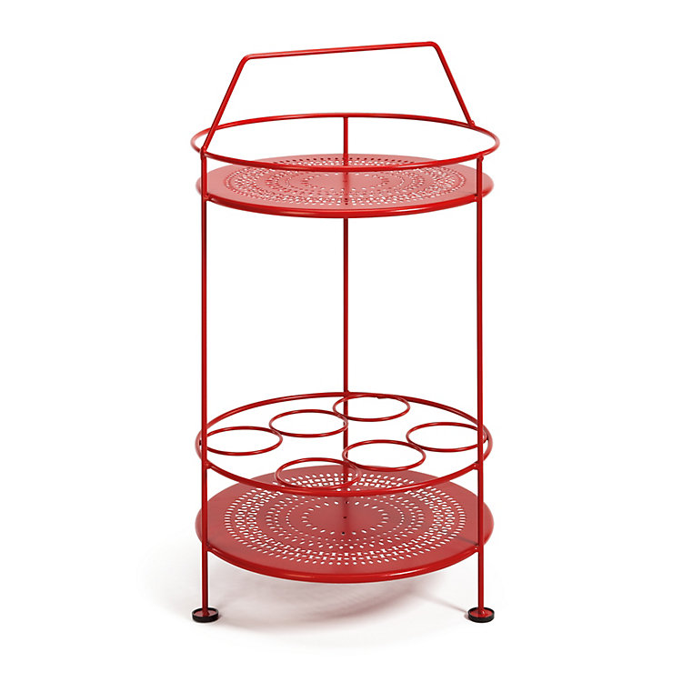 Steel Garden Drinks Bar Red