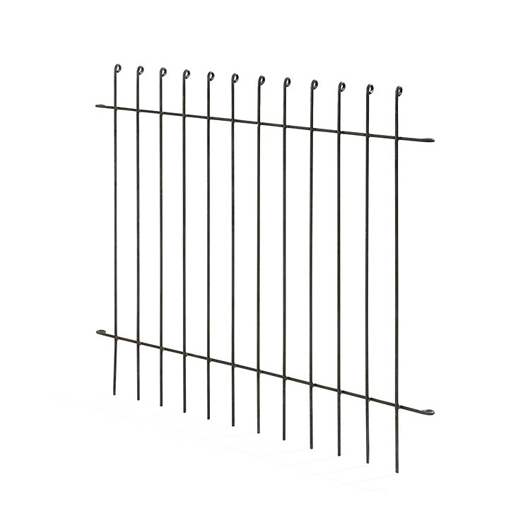 Steel Segment Picket Fence