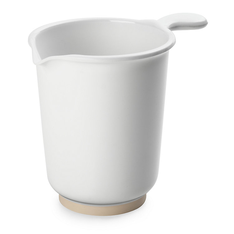 Stirring Jug Made of Melamine Resin, White