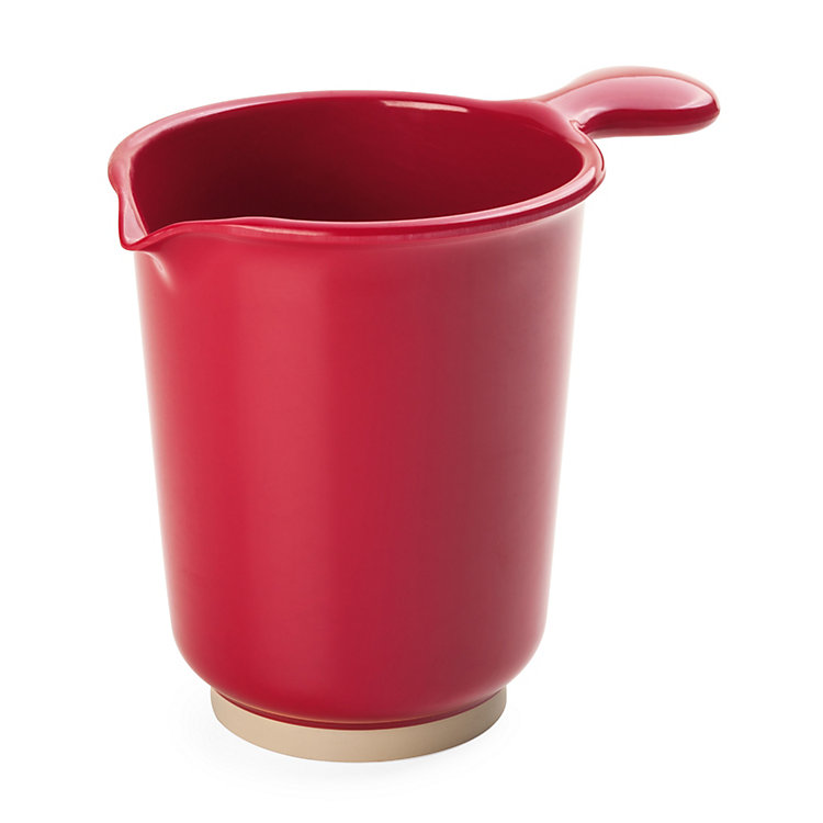 Stirring Jug Made of Melamine Resin Red