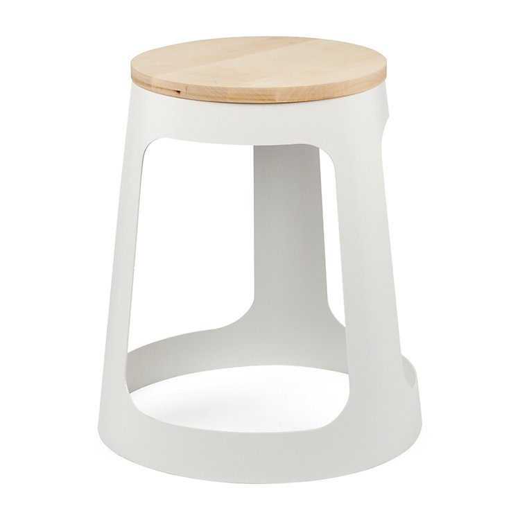 Stool GUESTSTOOL, Pure White RAL 9010