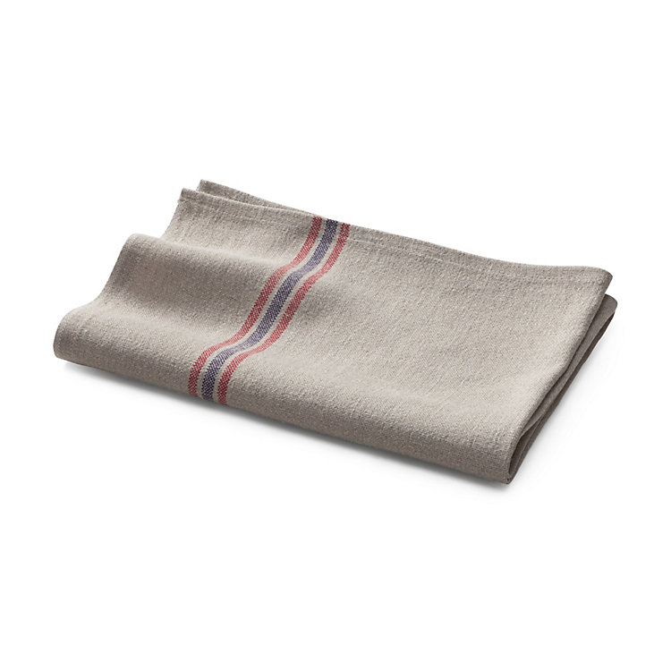Striped Linen Kitchen Towel Nature