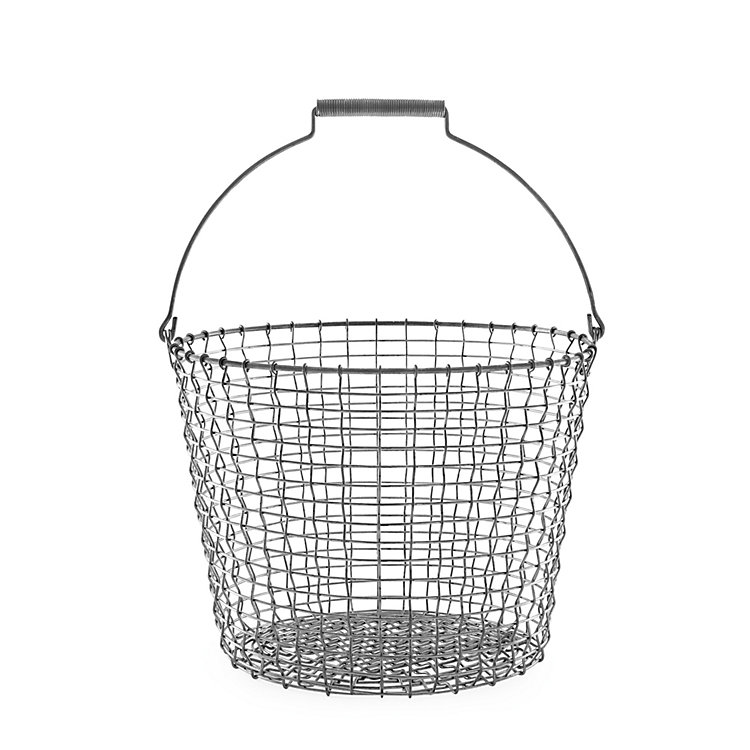 Swedish Wire Basket with a top handle