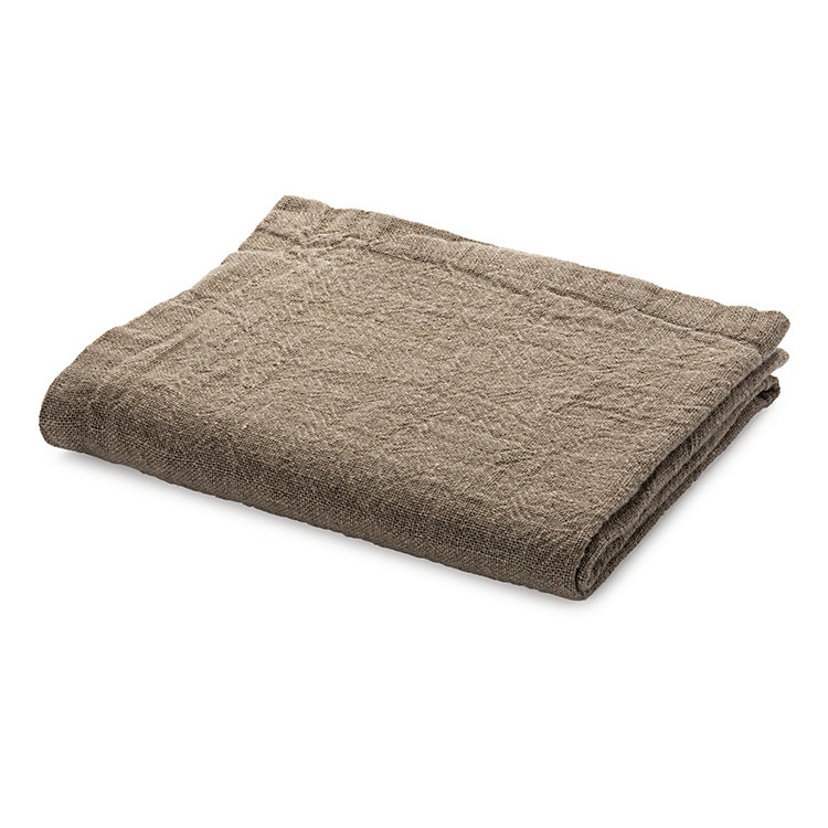 Table Runner Washed Linen Natural