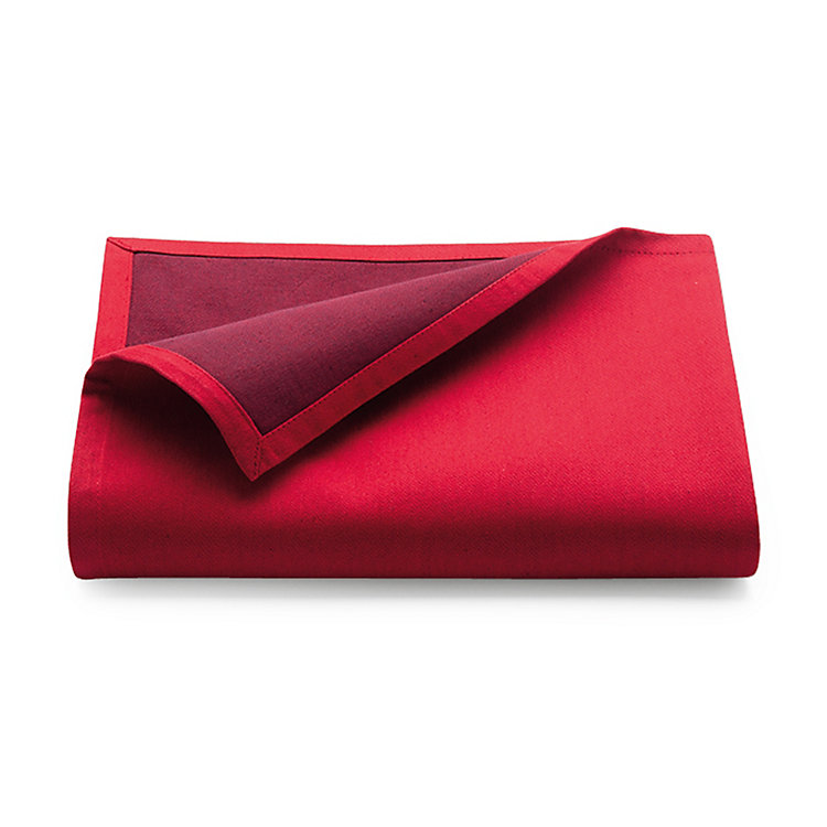 Tablecloth Bicolore Medium Red