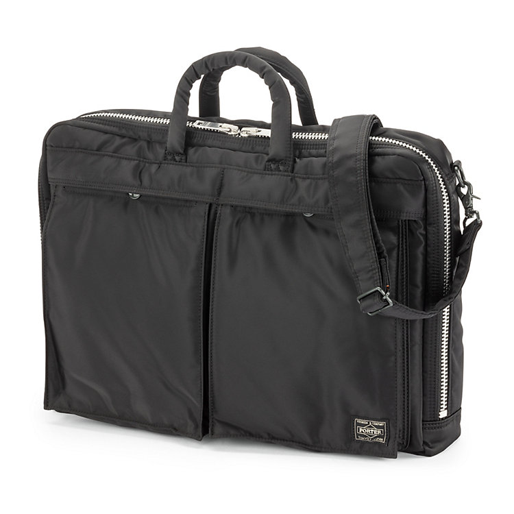 Tasche Tanker 2 way Brief Case, Schwarz