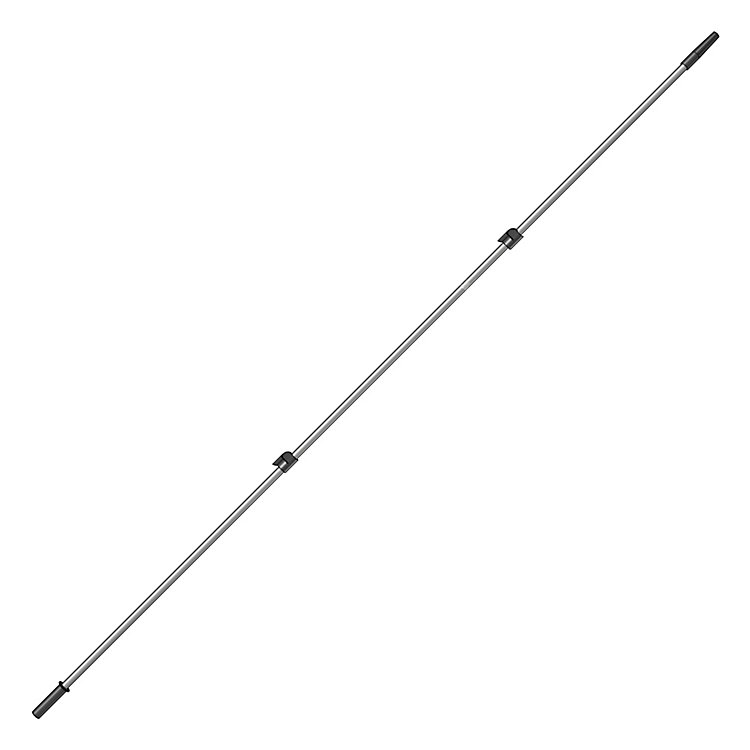 Telescopic Pole with Eccentric Clamp System