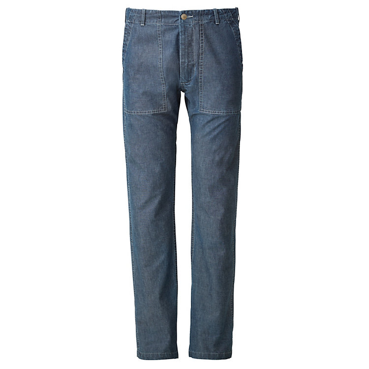 Tellason Herren-Worker-Pant Denim