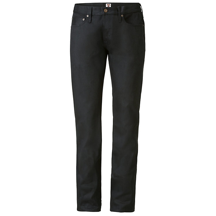 Tellason Herrenjeans Japan-Denim Schwarz