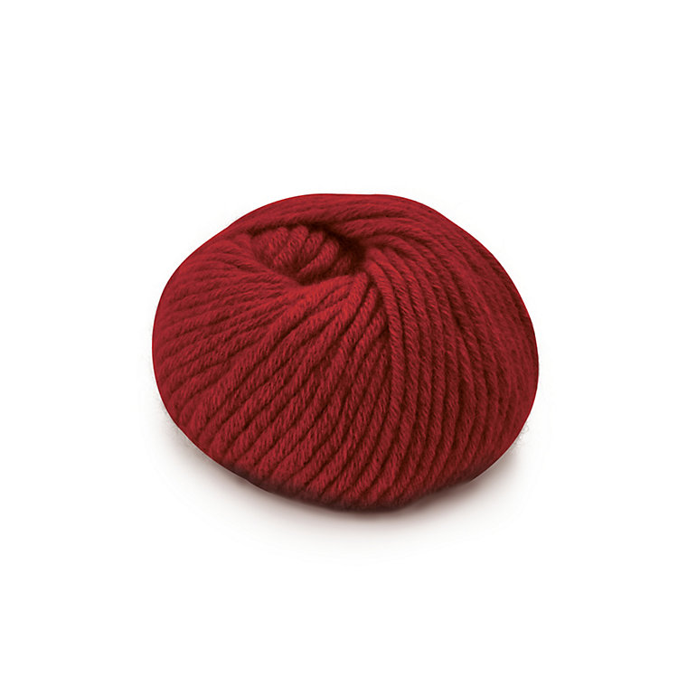Ten-Threaded Cashmere Hand Knitting Yarn Red