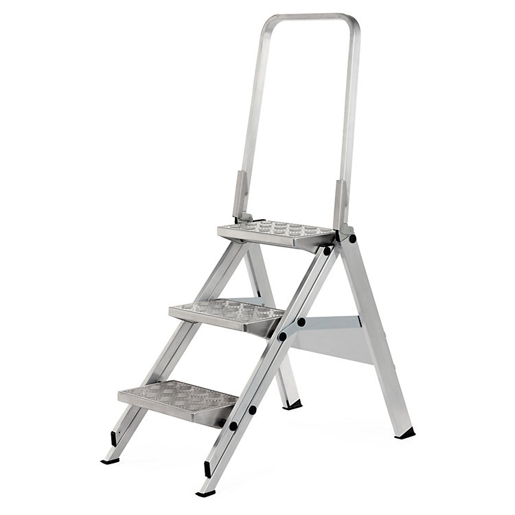Three Step Aluminum Ladder