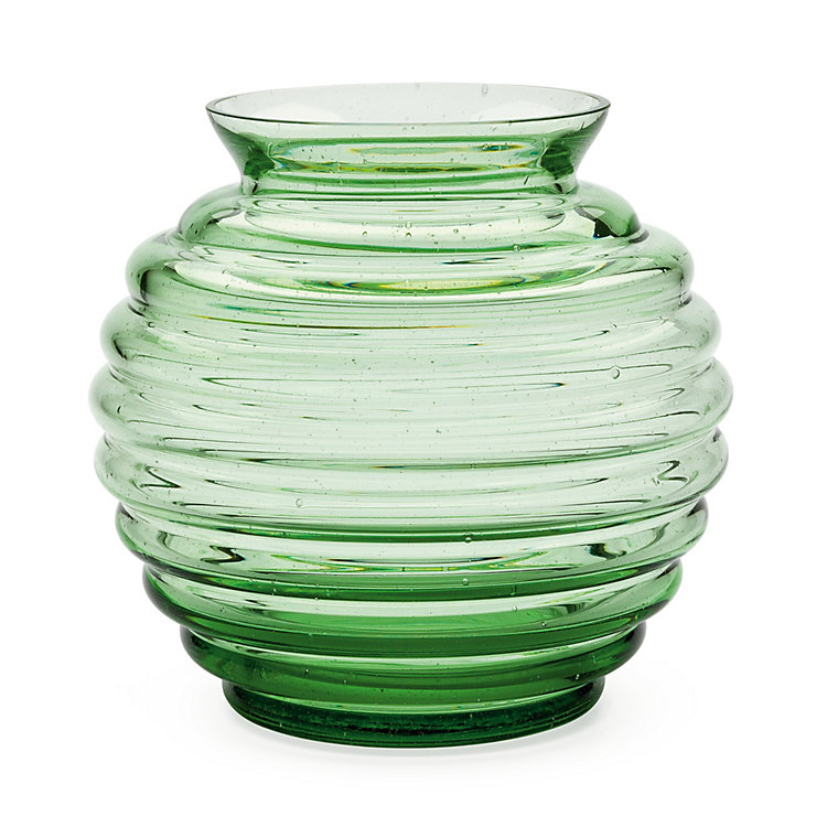 Thuringian Forest Glass Vase Spherical