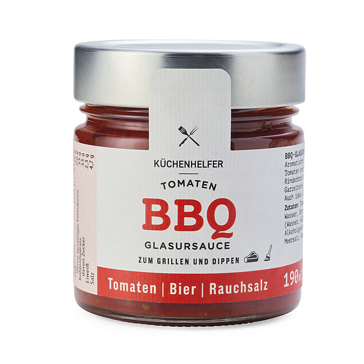 Tomaten-Barbecue-Bier-Glasursauce