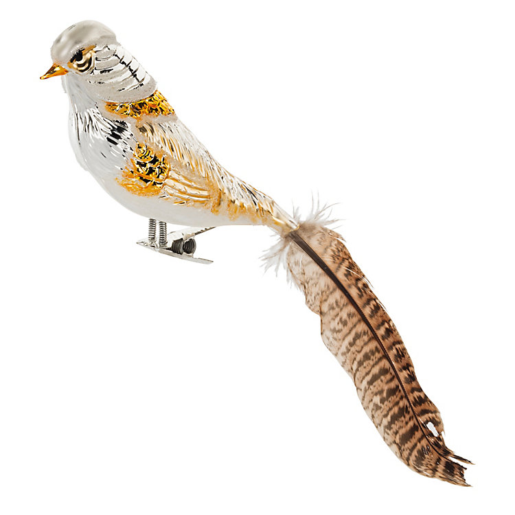 Traditional Lauscha Glass Pheasant