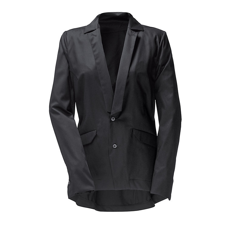 Umasan Women's Cotton Blazer, Black