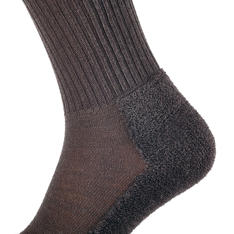 Veith Hiking Socks, Dark brown