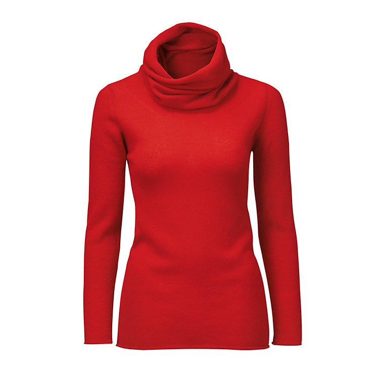 Villa Gaia Ladies Cashmere Jumper Red