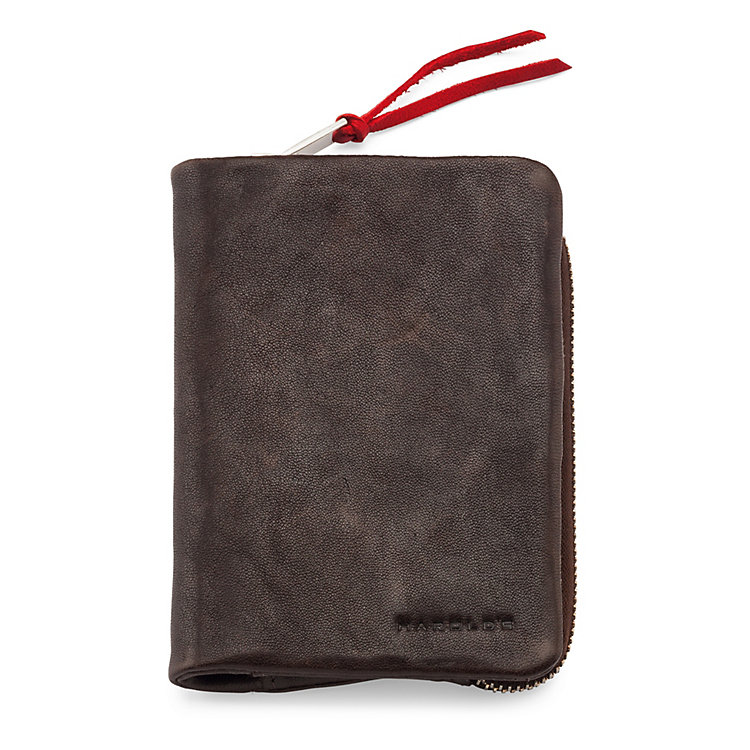 Wallet Supercourse Dark Brown/Red