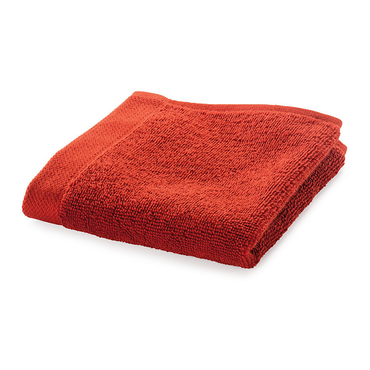 Weseta Washcloth Crimson