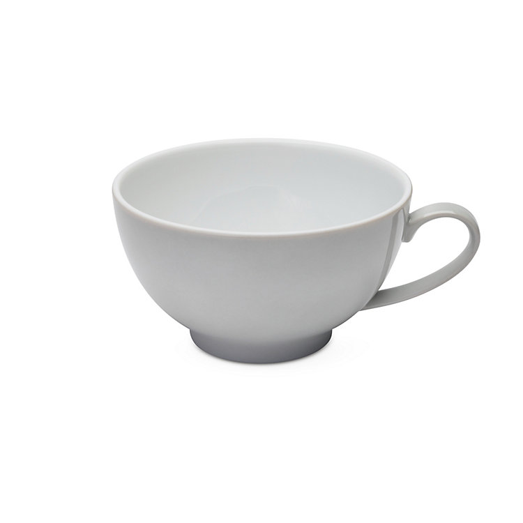 White Coffee Cup Grey