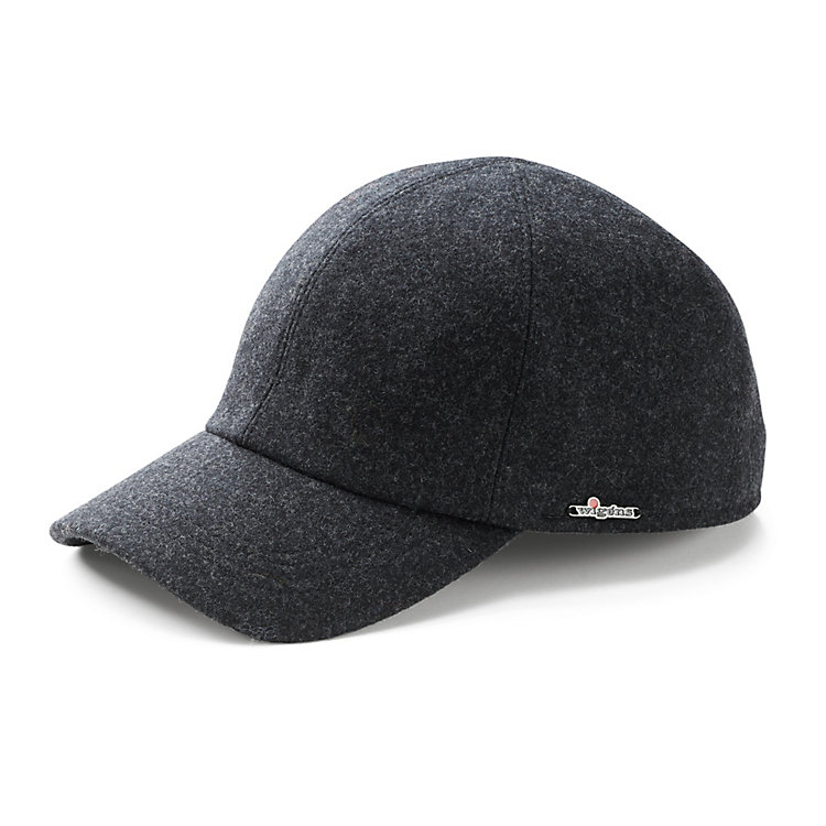 Wigens Men's Cap with Visor Anthracite