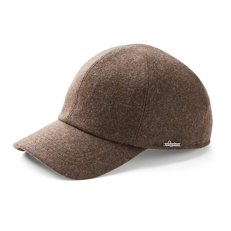 Wigens Men's Cap with Visor Brown