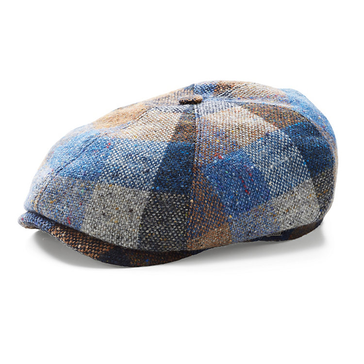 Wigens Men's Wool Cap Plaid