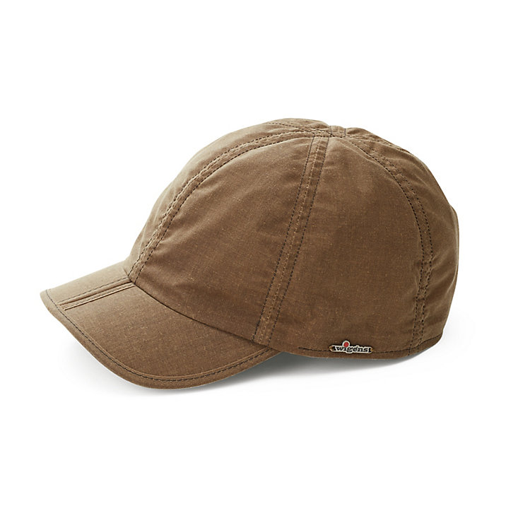 Wigens Waxed Cotton Cap Khaki