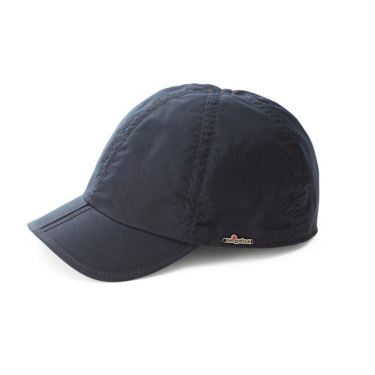 Wigens Waxed Cotton Cap Navy