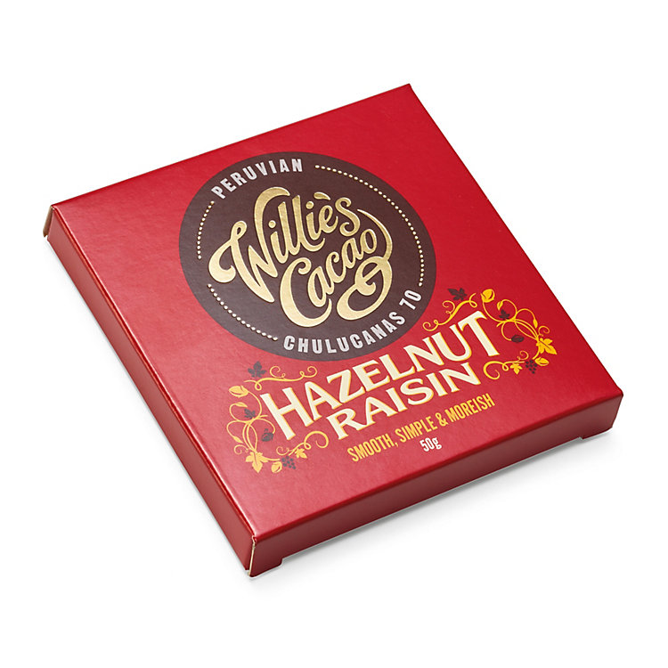 Willie's Cacao Traube Nuss