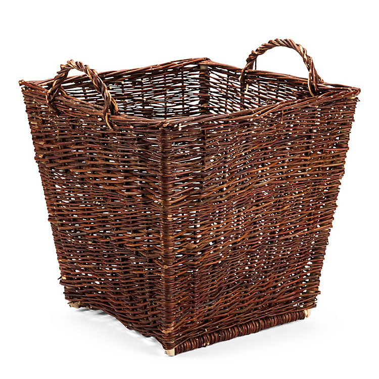 Willow Firewood Basket