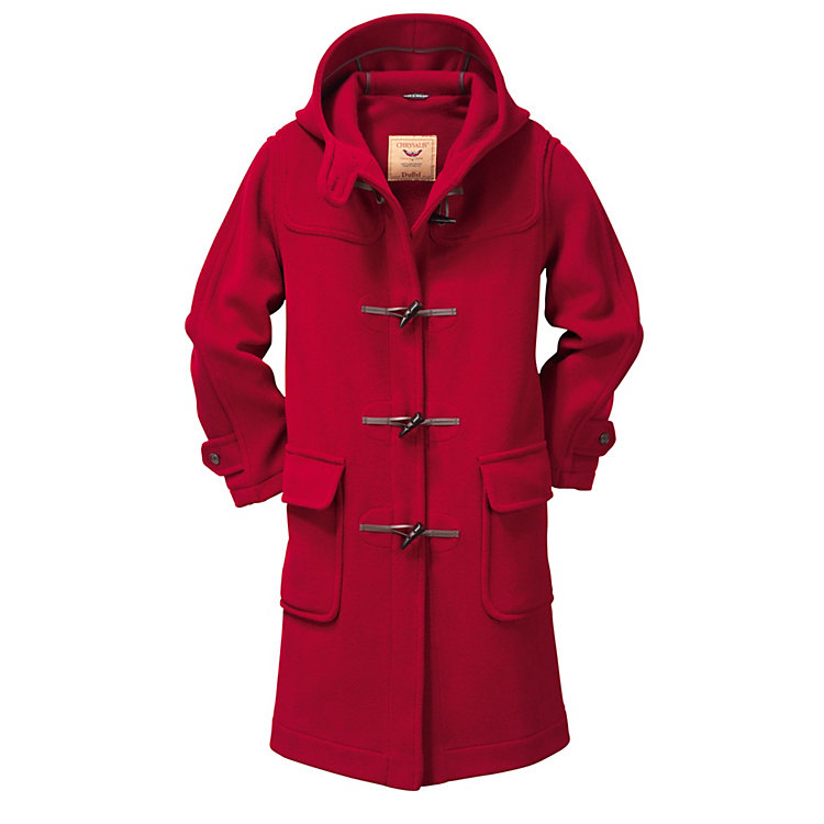 Women's Duffle Coat Elysian Red