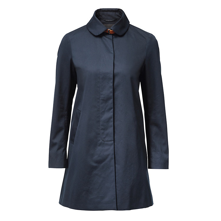 Women's EtaProof® Short Coat Dark Blue