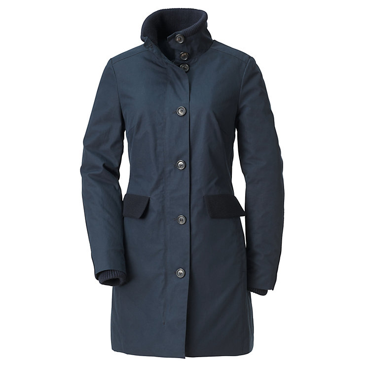 Women's Short Coat EtaProof® Dark blue